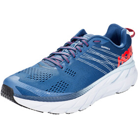 Hoka One One Clifton 6 Zapatillas Running Hombre, ensign blue/plein air
